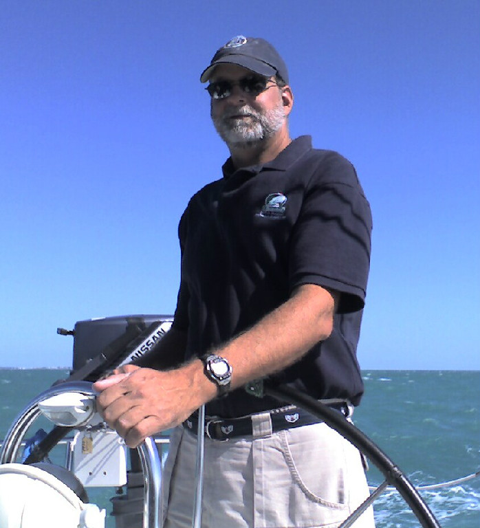 Chris on a delivery from Key West, FL to Corpus Christi, TX