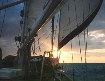 Sailing to Key West