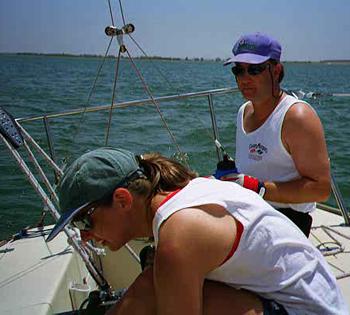 IBJA sail trim